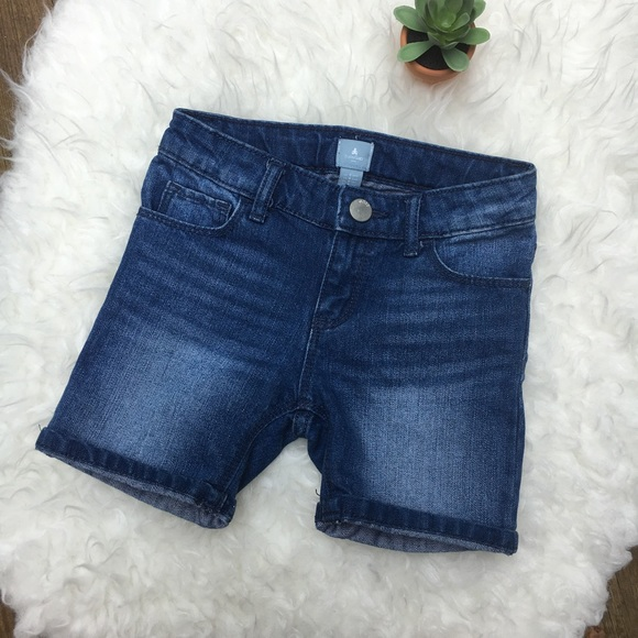 GAP Other - Baby Gap•Blue Denim Midi Shorts